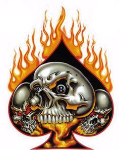 skulls | flaming skulls graphics and comments