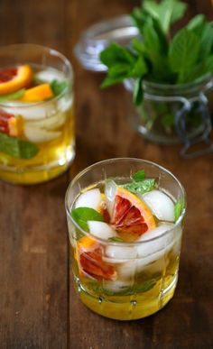 Blood Orange Mint Julep:  The Best Mint Julep Recipes To Make For Derby Day