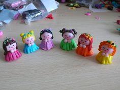 Bamboline FATINE DEI FIORI in fimo e cernit by LadyCupcake's Creations su misshobby.com