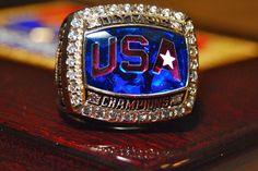 USA Basketball 2008 Olympics Championship Ring.
