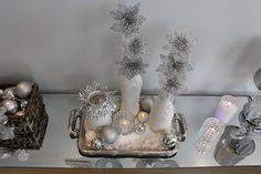 decoração com de ano novo azul marinho - Pesquisa Google