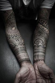 Arms Tattoo by Alexis Calvie