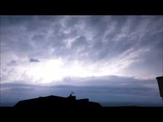 Tormenta electrica sobre Alemania - YouTube