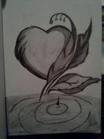 Drawn when school was going on. I had no work to do in my 7th period class, because I was already done with what I needed to do for that class.  looked up a pic and drew it.