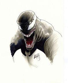 Venom original art