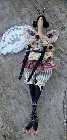 """Buy Handmade doll """"Butterfly"""" - gift, gift for women, gifts for her, doll"""
