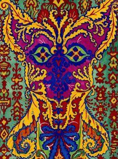horror vacui paintings - Pesquisa Google