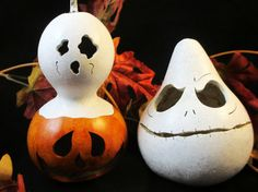 Halloween small gourds all you need decoration by KaoriKreations, $21.00