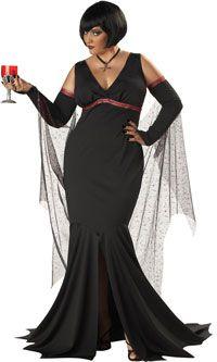Immortal Seductress Plus Size Costume – Vampire Costumes « Mutant Faces