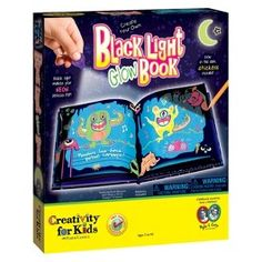 Creativity for Kids Black Light Glow Book