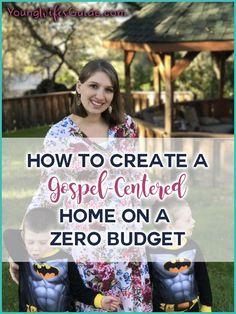 I talk and share a lot about creating a Gospel-centered home. My focus throughout my ministry is to encourage you (and myself) to focus on Christ more and more within our homes. This week I got a question from a reader about how we can create a Gospel-centered atmosphere in our home on a ZERO... Read More