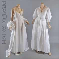 1940's Peignoir w / Nightgown