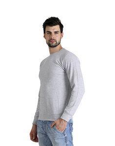 Light Grey Plain Sweat Shirt – Atheno India