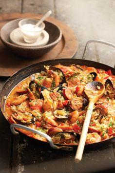 Seafood paella | SARIE