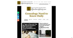 Here's your #genealogy need to know for Thursday, 30 Oct 2014 via 4YourFamilyStory.com http://www.4yourfamilystory.com/genealogy-need-to-know-daily.html