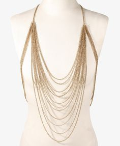 a0717a355f Forever 21. Body NecklaceStyle ...