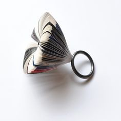 Paper ring by Michihiro Sato