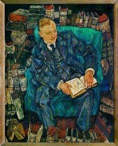 Egon Schiele Dr. Hugo Koller, (1917).