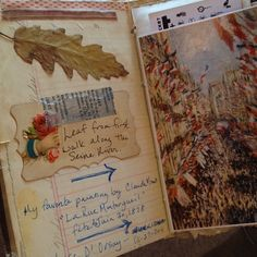 love the victorian card as a journaling card..  Paris by pam garrison, via Flickr