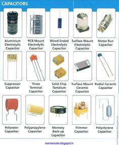 capacitor types pdf - Google Search