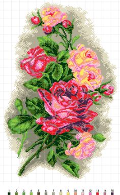 Counted Cross Stitch Patterns, Christmas Wreaths, Stencils, Projects To Try, Holiday Decor, Loom, Charts, Frames, Crossstitch