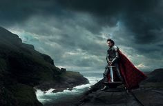 The Sword in the Stone depiction by Annie Leibovitz. [Roger Federer]