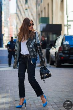 New York Fashion Week SS 2016 Street Style: Patricia Manfield