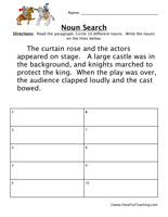 verb worksheet read the paragraph circle all of the verbs write the verbs on the lines below. Black Bedroom Furniture Sets. Home Design Ideas