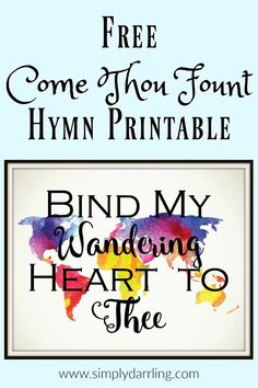 Free Come Thou Fount of Every Blessing Print