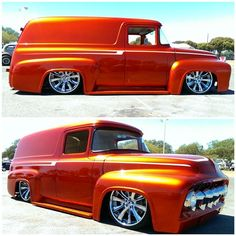 56 Ford panel