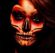 Halloween Makeup. Creepy.