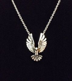 A personal favorite from my Etsy shop https://www.etsy.com/listing/253940652/3d-silver-eagle-spread-wing-bird