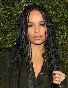 Zoe Kravitz (Dtr. Of Lenny and Lisa Bonet)                                                                                                                                                                                 More
