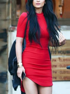 Shop Red Short Sleeve Slim Bodycon Dress online. SheIn offers Red Short Sleeve Slim Bodycon Dress & more to fit your fashionable needs.