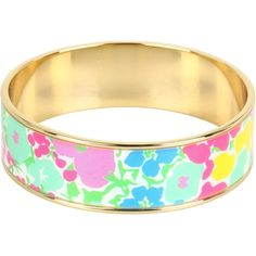 Lilly Pulitzer Photodome Bangle ($48) ❤ liked on Polyvore