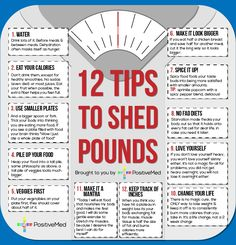 12 Tips To Help Shed Pounds