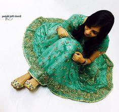 ♥️A Wedding Dress is both an Intimate and Personal for a Women- it must reflect the Personality & Style of Beautiful 😍Bride.😎 Style your Bridal Dress with Ethnic look of Punjabi jutti only @www.punjabijuttistore.com   #Punjabijuttistore #punjabijutti #jutti #khussa #mojari #footwear #weddingseason #bridemade #groommade #casual #bridetobe #indianwear #ethniclook #indianbride #worldwide ✈️🌍 #makeinindia #punjabiwedding #swagycouples #punjabijodi #blog #india #shopnow #bebeautiful #goethnic…