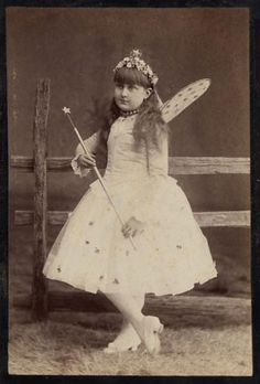 Little vintage fairy photo