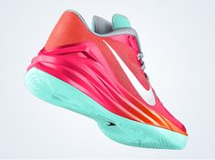 Nike Hyperdunk 2014 Low | Thess joints are pretty fresh especially in this south beach ID colorway.