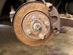 Photo about Car front wheel rusty disc brake detail, needs repair. Image of drive, maintenance, front - 138259618 Car Detailing, Car Photos, Cars And Motorcycles, Car Repair, Banks, Money, Logo, Shopping, Photography