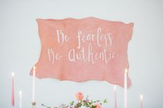 Be Fearless, Be Authentic. New online course launching soon for brides-to-be to plan their most authentic wedding day.