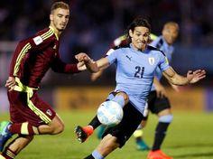 Cavani Dua Gol Uruguay Hantam Venezuela 3-0 - Detikcom