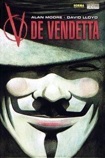V de vendetta, una referencia imprescindible para hablar de libertad, anarquía, resistencia, cultura... Una novela gráfica de triste actualidad en el mundo gris e intolerante que nos toca vivir.