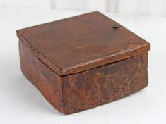 A wonderful rustic square shaped spice box sourced from Northern India. Scaramanga appreciates the rustic aesthetic, skilled craftsmanship and geometric form of this rustic item. #vintage #homestyle #offer #furnituresale #homedecor Rustic Storage Boxes, Geometric Form, Furniture Sale, Spice, Decorative Boxes, Geometric Fashion, Spices, Home Decor Boxes, Herbs