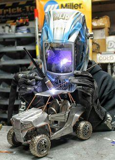 Rzr polaris cold hard art welding miller