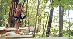 Explore Nomads Outdoor Adventure - The newest and most exciting 'aerial adventure park' in Connecticut. Traverse six adventure trails crafted through nine acres of beautiful woodland. Our trails start on one centrally located platform where you can ch