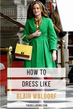 How To Dress Like Blair Waldorf Complete With Shopping Guide Blair Waldorf Outfits, Blair Waldorf Gossip Girl, Blair Waldorf Style, Gossip Girl Blair, Skirt Fashion, Fashion Outfits, City Fashion, Blair Waldorf Aesthetic, Gossip Girl Outfits