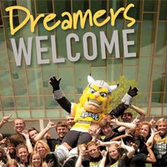 Northern Kentucky University  #dreamerswelcome NKU has special place in my heart because it has changed my life. Its my home, where my family is, and where my interests lay. I really cant express how much I love this school. I was an Orientation leader this summer and it was such a great experience. I don't think I would be here if it wasn't for culture pushing me to be the best I can be and do the best things I can.