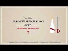 Champagne Protocoles de G.H.MUMM - Savoir sabrer le champagne