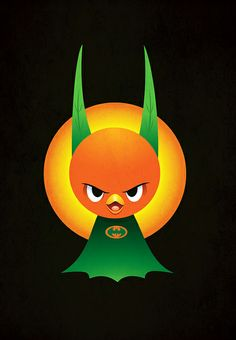 The Orange Knight by Jerrod Maruyama, via Flickr